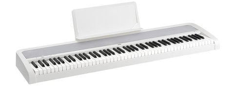Korg B1WH 88-Key Digital Piano with Weighted Hammer Keyboard Action, White B1WH