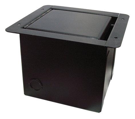 """RapcoHorizon Music POCKETMINI-GAP Mini Floor Box with 3/8"""" Gap/Slot Lid POCKETMINI-GAP"""