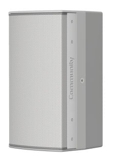 Community IC6-1082T26W 8-Inch Two-Way, 120 x 60, Installation Loudspeaker For Indoor Use, White IC6-1082T26W