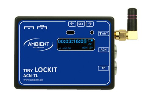 Ambient ACN-TL  Tiny Lockit Synchronizer for Video Cameras and Audio Recorders ACN-TL