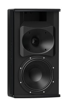 Community IC6-1082T96 8-Inch Two-Way Installation Loudspeaker For Indoor Use, Black IC6-1082T96B