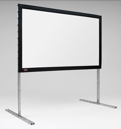 """Draper Shade and Screen 385069  142"""" (75"""" x 120"""") FocalPoint, Silver Portable Projection Screen 385069"""