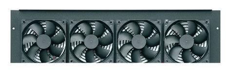 Middle Atlantic Products IBGR-276FT  Integrated 276 CFM DC Fan Top for BGR Racks IBGR-276FT