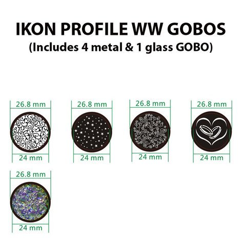 ADJ Ikon Profile WW 32 Watt WW LED Mini Ellipsoidal IKON-PROFILE-WW