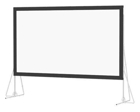"Da-Lite Heavy Duty Fast-Fold Deluxe Screen System 220"" Screen System with Ultra Wide Angle Surface 35460"