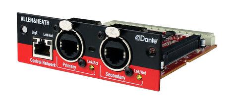 Allen & Heath M-Dante 64x64 Channel Dante Network Card for iLive Mix Rack System M-DANTE-A
