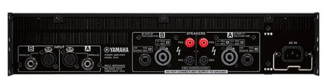 Yamaha PX10 Dual-channel Power Amplifier PX10