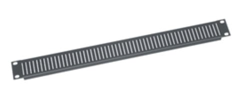 Middle Atlantic Products VT2 2 Space Big Perforated Vent Panel VT2