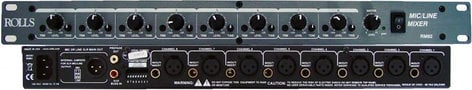 Rolls RM82 8-Channel Mic/Line Mixer RM82