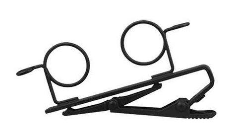 Shure Rk183t2 Dual Mount Tie Clip For Lavalier Mics