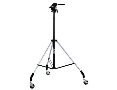 Smith Victor Corp Dollypod III Wheeled Tripod with Titan 2-Way Head 700005