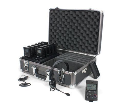 Williams Sound DWS TGS 11 300 Digi-Wave 300 Series Tour Guide System DWS-TGS-11-300