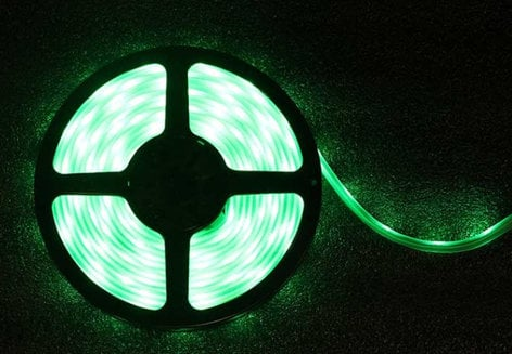 Blizzard Lighting KOMPLY-5050-RGB-HP 5-Meter RGB 12v LED Ribbon Roll, 60 LEDs Per Meter KOMPLY-5050-RGB-HP