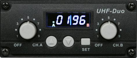 Galaxy Audio Dual Receiver TV-DREC DUAL UHF RECEIVER FOR TV8/10 TV-DREC
