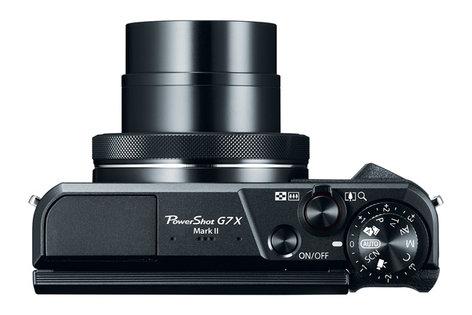 Canon PowerShot G7 X Mark II 20.1 MP Compact Digital Camera in Black POWERSHOT-G7-X-MKII