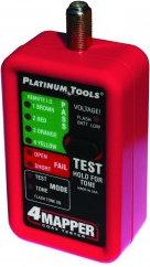 Platinum Tools T104C [RESTOCK ITEM] 4Mapper™ Coax Tester T104C-RST-01