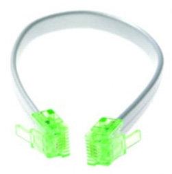 "Platinum Tools T126C [RESTOCK ITEM] No-Fault Cable - 7.5"" Special RJ12 to RJ12 T126C-RST-01"