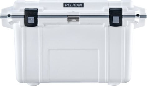 Pelican Cases 70QT  Elite Cooler in White/Gray 70QT