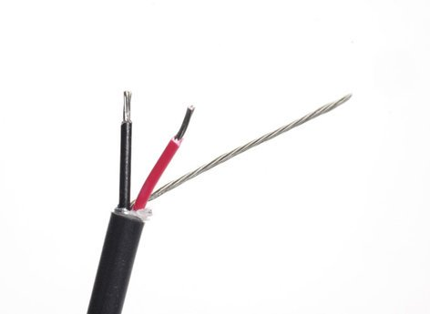 Belden 8451-U500-BLACK Wire Audio Cable 22g 1p 500ft Unreel/Box 8451-U500-BLACK