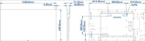 """Philips Commercial BDL5570EL  55"""" EL Series Commercial 24x7 LED Monitor BDL5570EL"""