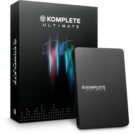 Native Instruments KOMPLETE 11 ULTIMATE [BOXED] Upgrade for MASCHINE 2, KONTAKT, KOMPLETE SELECT, KOMPLETE KONTROL S-SERIES KOMPLETE-11-ULT-KSEL