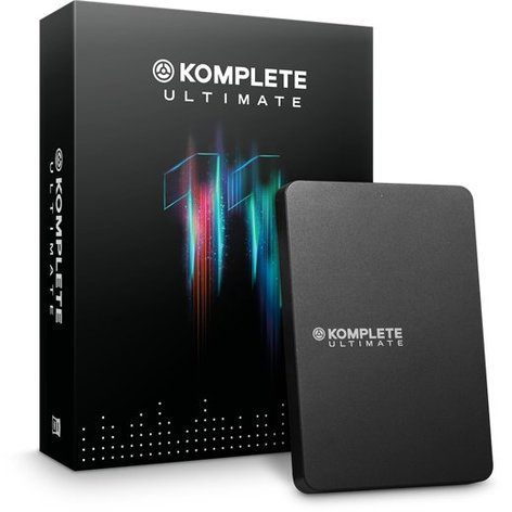 Native Instruments KOMPLETE 11 ULTIMATE [BOXED] Virtual Instrument Software Bundle KOMPLETE-11-ULTIMATE