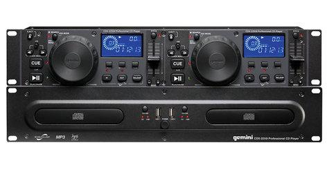 Gemini CDX-2250I Dual CD/MP3 Player, 2RU CDX-2250I