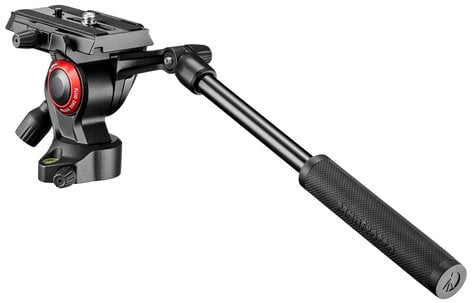 Manfrotto BeFree Live Fluid Video Head with 360 Degree Pan and 8.8 lbs Capacity MVH400AHUS