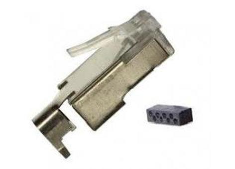 Liberty AV Solutions RJ45-STP-L6  Package of (25) Cat6 Shielded 8P8C RJ45 Plugs with 360 Degree Shielding RJ45-STP-L6