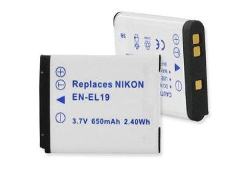 Interstate Battery DIG0095  Lithium Ion Nikon Camera Battery, 3.7V, 650mAh DIG0095