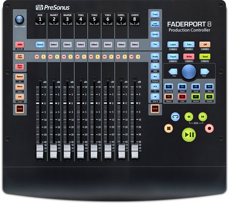 PreSonus FADERPORT-8 FaderPort 8 8-Channel Mix Production Controller FADERPORT-8