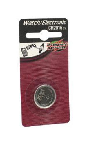 Interstate Battery LIT0145  3V Lithium CR2016 Battery LIT0145