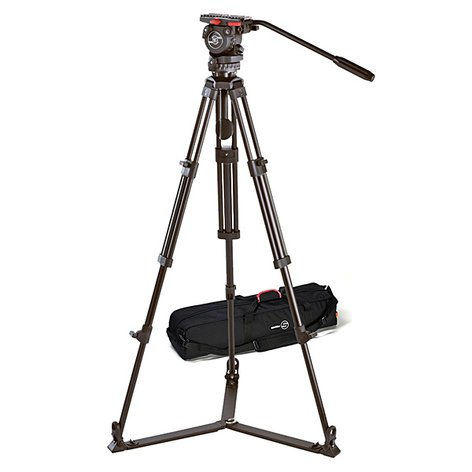 Sachtler System FSB 4 / 2 D Fluid Head FSB 4 System with Ground Spreader and Padded Bag 0371-SACHTLER