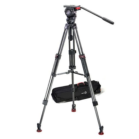 Sachtler System FSB 6 T SL MCF Fluid Head FSB 6 System with Mid-Level Spreader and Padded Bag 0450-SACHTLER