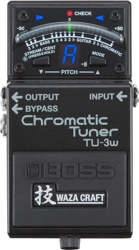 Boss TU-3W Waza Craft Chromatic Tuner Pedal TU3W