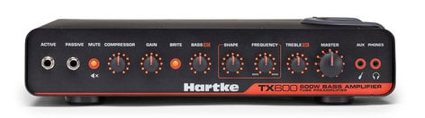 Hartke TX600 600 Watt Bass Amplifier TX600