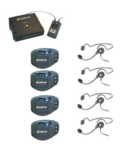 Eartec Co CPCYXTPLUS-4 XT Plus Com-Center With Interface CPCYXTPLUS-4