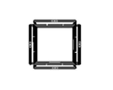 Lowel Light Mfg O1-21  Barndoor Frame  O1-21