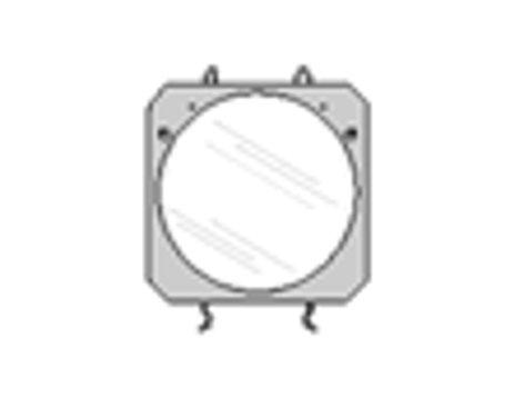 Lowel Light Mfg O1-50 Diffused Glass for Omni-Light O1-50