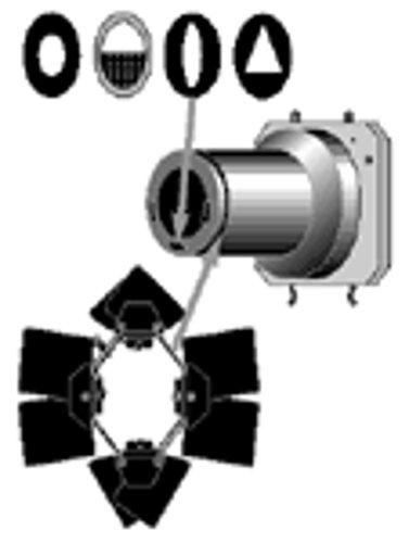 Lowel Light Mfg O1-532  Omni Narrow Snoot  O1-532