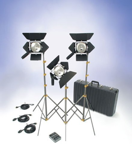Lowel Light Mfg O1-92LBZ Action Kit with Lamps & Soft Case O1-92LBZ