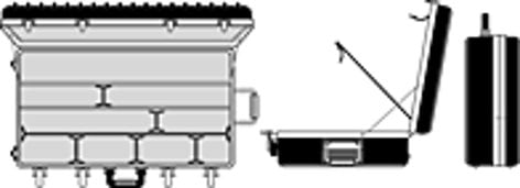 Lowel Light Mfg O1-95Z  Omni 4 Kit  O1-95Z