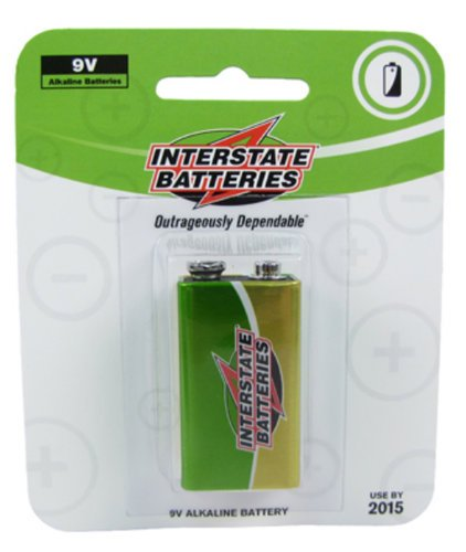Interstate Battery DRY0005 9V Battery - Single DRY0005