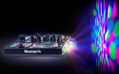 Numark PARTY MIX DJ Controller with Onboard Light Show PARTYMIX
