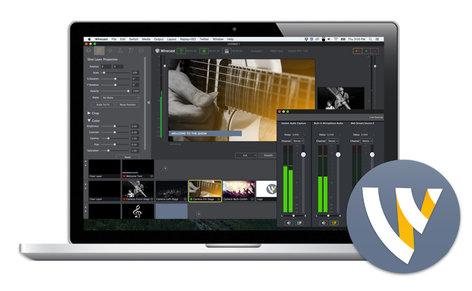 Telestream Wirecast 7 Studio for Mac [DOWNLOAD][EDUCATIONAL PRICING] Live Streaming Software - Academic Edition WC7STU-M-EDU