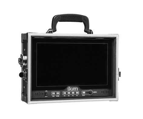 ikan Corporation D12-FK  D12 Field Monitor Kit for V-Mount with Built-In Hard Case D12-FK