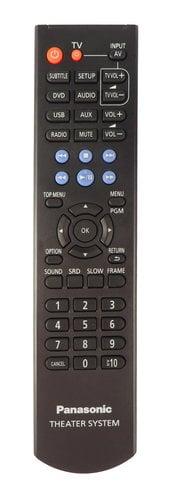 Panasonic N2QAYB000974  Remote Control for SC-XH105 N2QAYB000974
