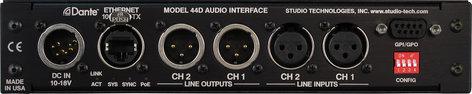 Studio Technologies MODEL-44D Model 44D Dante to Analog Audio Interface MODEL-44D