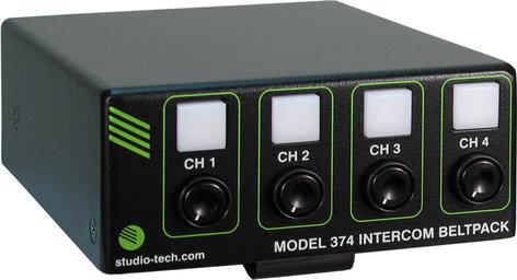 Studio Technologies Model 374 Intercom Beltpack  MODEL-374