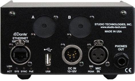 Studio Technologies Model 215 Dante Supported Announcers Console  MODEL-215